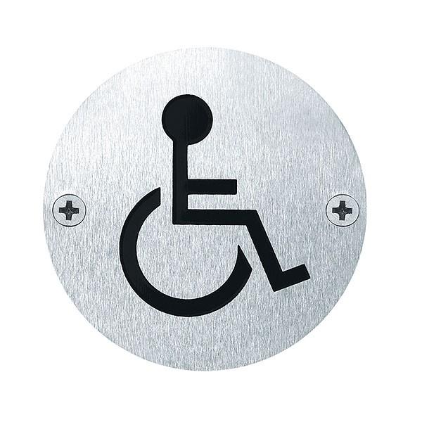 """Hinweisschild """"Behinderte"""""""
