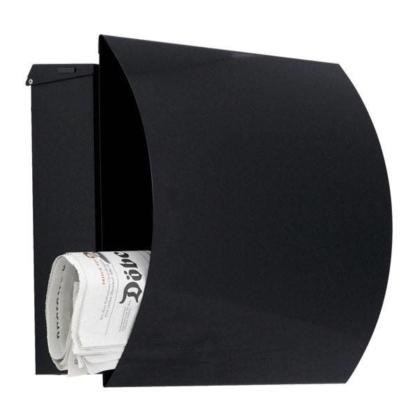 RAL 9005 schwarz glänzend